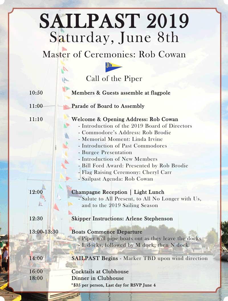 Sail Past Poster